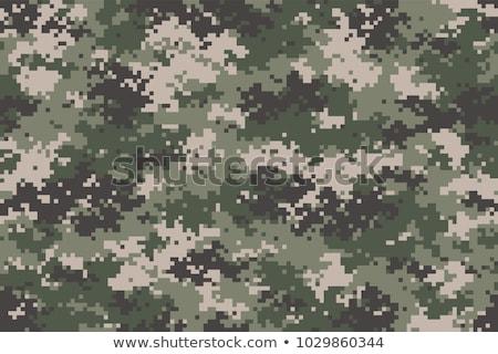 Hadsereg digitális álca végtelenített textúra szövet Stock fotó © tashatuvango
