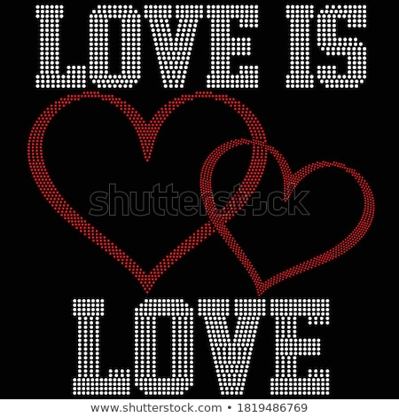 vetor · jóia · corações · conjunto · ícones · romântico - foto stock © beaubelle