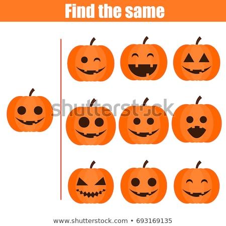 pair of pumpkins stock photo © photochecker