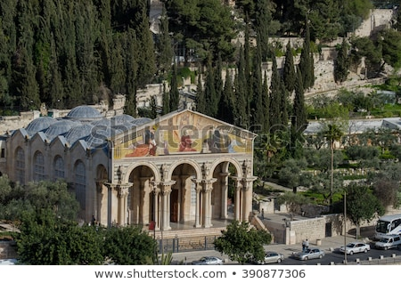 Church of All Nations in Jerusalem Stock photo © AndreyKr