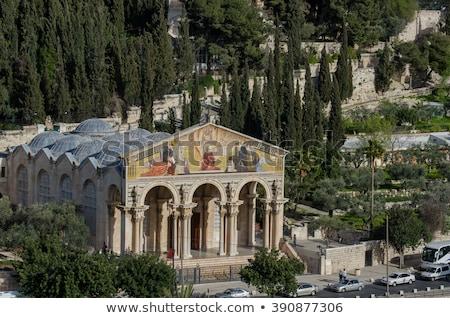 13 · katolikus · kolostor · homlokzat · templom · kő - stock fotó © andreykr
