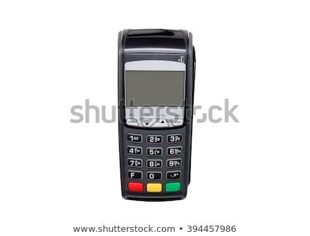 bank terminal with card reader stock photo © andreypopov
