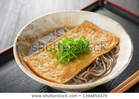 Kitsune soba noodles Stock photo © varts