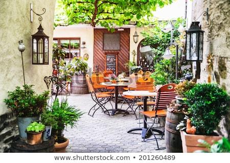 Small Street Cafe Stock photo © cosma