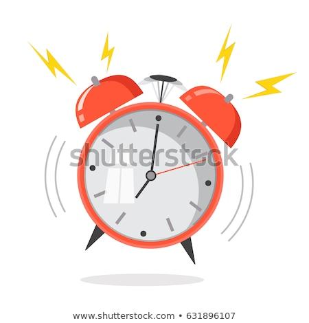 Vintage alarm clock in bedroom Stock photo © stevanovicigor