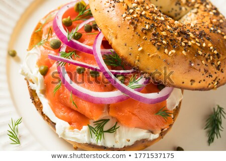 bagel bread Stock photo © M-studio