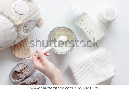 children's milk Stock photo © bazilfoto