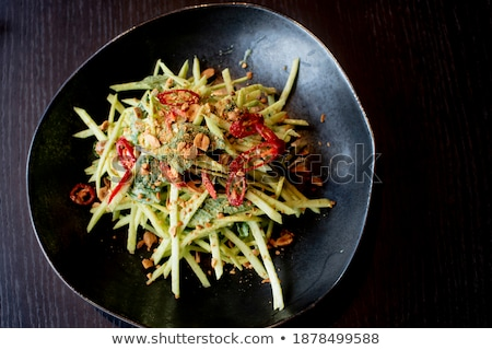 chinese food salad made of toufu stock photo © bbbar
