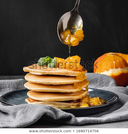 Homemade orange marmalade cake Stock photo © punsayaporn