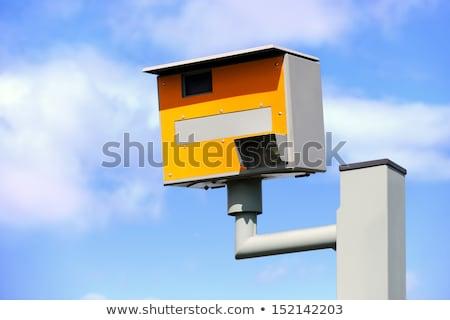 hızlandırmak · kamera · imzalamak · örnek · siyah · beyaz - stok fotoğraf © michaklootwijk