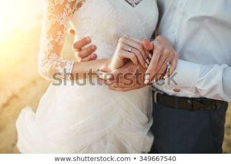 Young coupple just married Stock photo © jiri_miklo