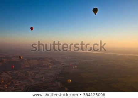 Sunrise au-dessus louxor Egypte soleil Voyage Photo stock © eleaner