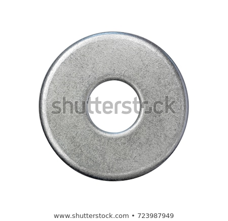 Metal rondella vecchio bianco costruzione industria Foto d'archivio © dezign56