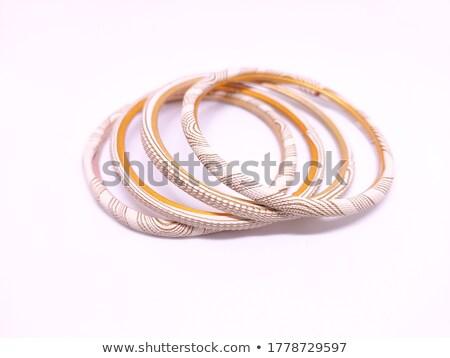 pulsera · aislado · blanco · naturaleza · fondo - foto stock © siavramova