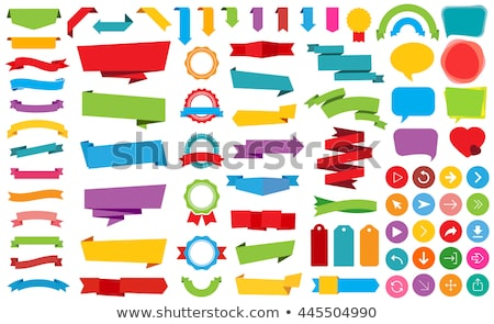 Venta verde notas adhesivas vector icono diseno Foto stock © rizwanali3d