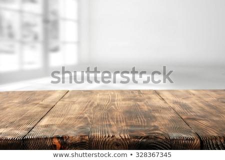 café · negro · blanco · taza · vidrio · mesa · moderna - foto stock © nalinratphi