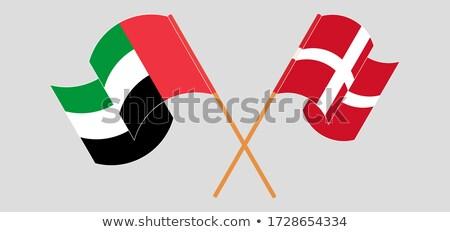 United Arab Emirates and Kingdom of Denmark Flags Stock photo © Istanbul2009
