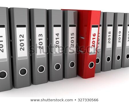 File Folder Labeled as 2016 Stock photo © tashatuvango