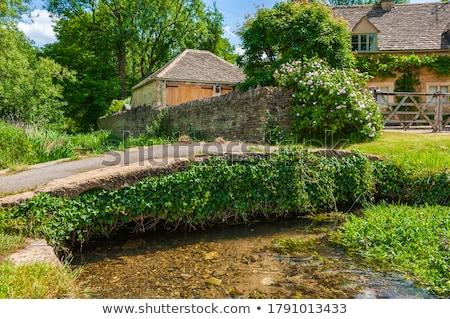 Cotswold stone Bridge Stock photo © ndjohnston