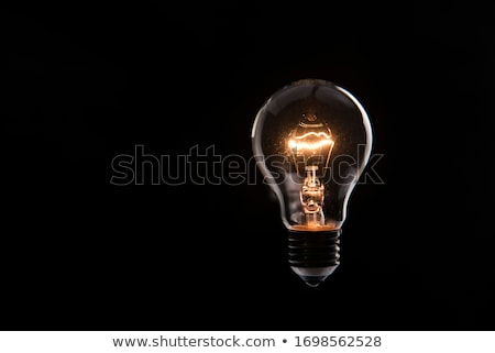 Electric Bulb On Dark Stock photo © cosma