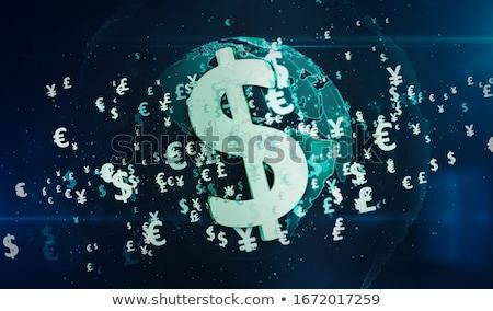 доллара Мир карта Мир валюта деньги Сток-фото © bonathos