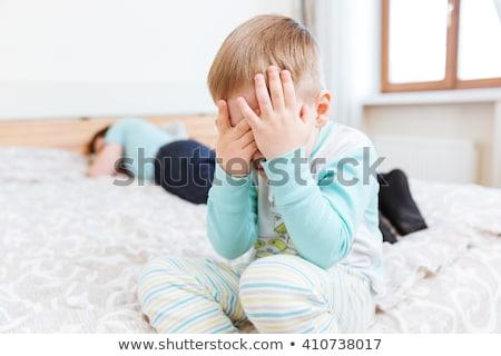 отец · спальный · сын · совместный · мечта · ребенка - Сток-фото © deandrobot