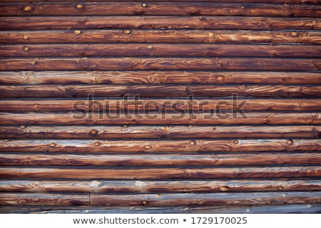 Wooden cabin wall Stock photo © stevanovicigor