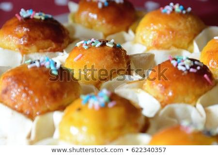 biscoito · pudim · frutas · comida · bolo · amarelo - foto stock © digifoodstock