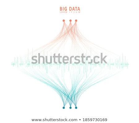 A graphical representation Stock photo © bluering