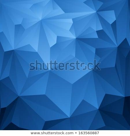 Blue abstract kaleidoscope background. Stock photo © homydesign