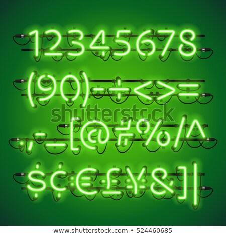 livre · symbole · vert · flèche · argent · design - photo stock © voysla