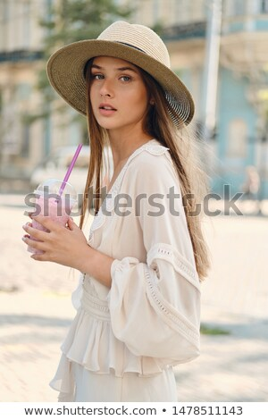 Portrait of a fabulous, pretty woman Stock photo © konradbak