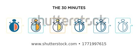 Colorful tokens with different numbers  Stock photo © bluering