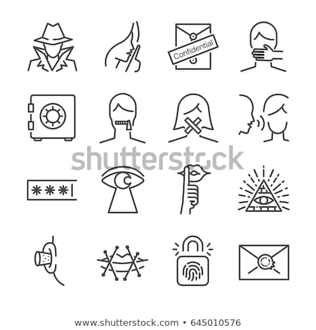Secret icon Stock photo © Oakozhan