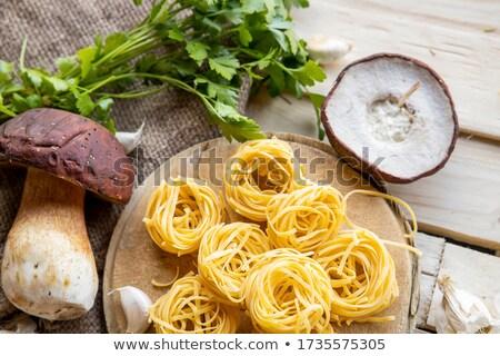 organic porcini Mushroom; seasoning forest Mushroom and Italian  Stock photo © Konstanttin