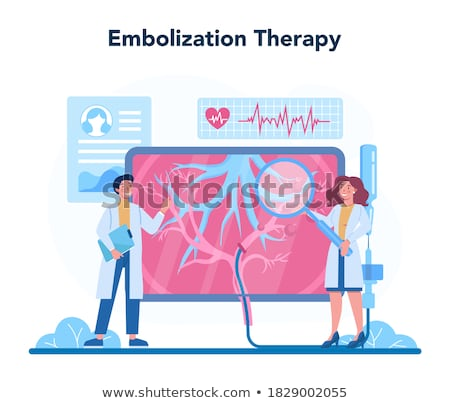 Embolism Diagnosis. Medical Concept. Stock photo © tashatuvango
