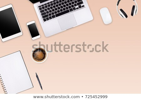 Webdesign on Laptop in Modern Workplace Background. Stock photo © tashatuvango