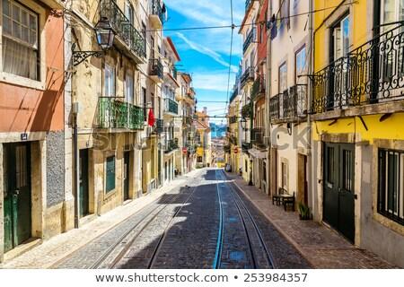 景観 · リスボン · ポルトガル · 空 · 家 - ストックフォト © lucvi