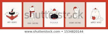 karácsony · csendélet · hangjegyek · élet · fehér · liliom - stock fotó © balasoiu