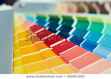 Close up of color swatches Stock photo © IS2