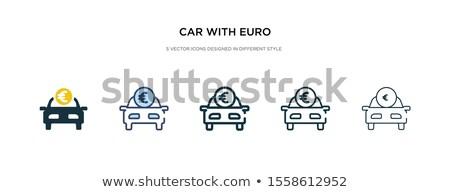 Trancar ícone diferente estilo vetor símbolo Foto stock © sidmay