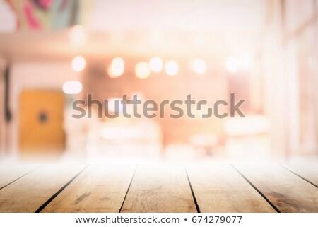 ioga · tabela · feminino · terno · sessão - foto stock © is2