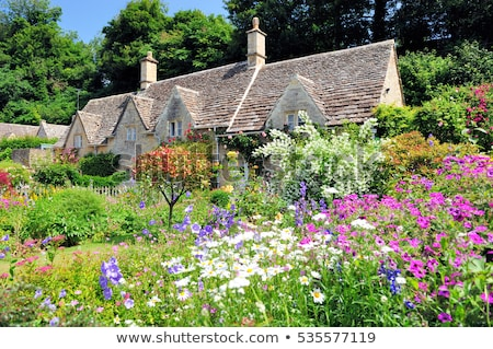 English Country Cottage Stock photo © smartin69