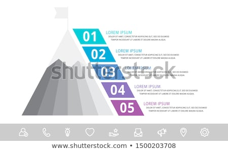 Pyramid and mountains Stock photo © Givaga