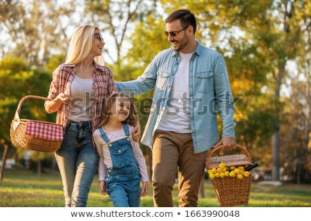 Happy summertime beauty. Stock photo © lithian