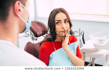 Have a toothache Stock photo © eddows_arunothai