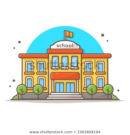 education icons vector isolated flat cartoon illustration stock photo © pikepicture