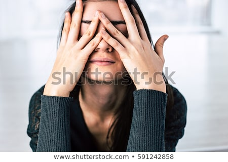 Stressed Student Stock photo © ajn