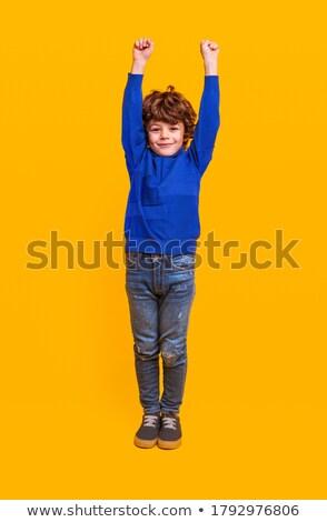 Sarı giyim ayarlamak erkek başarı iş Stok fotoğraf © toyotoyo