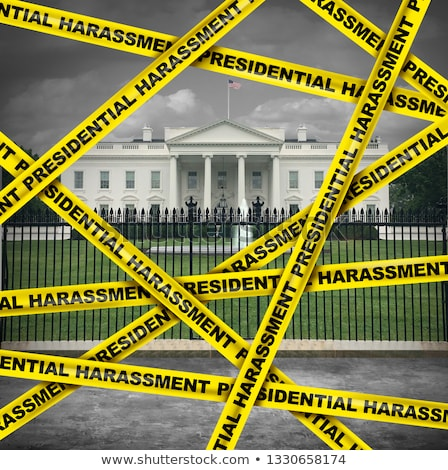 Presidential Harassment Politics Stock photo © Lightsource